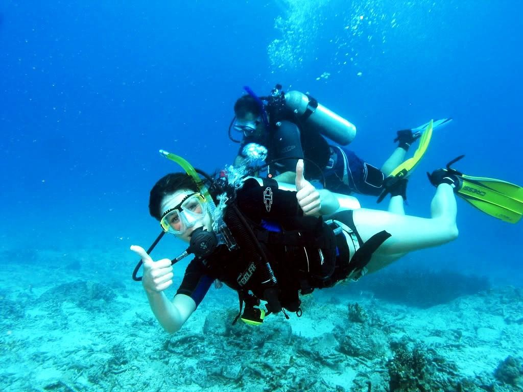 diving instructor